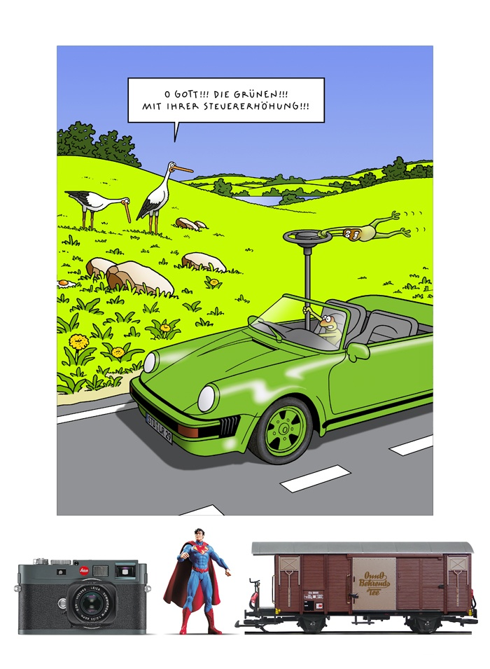 Tetsche - Cartoon der Woche . . . vom 29. Juli 2021