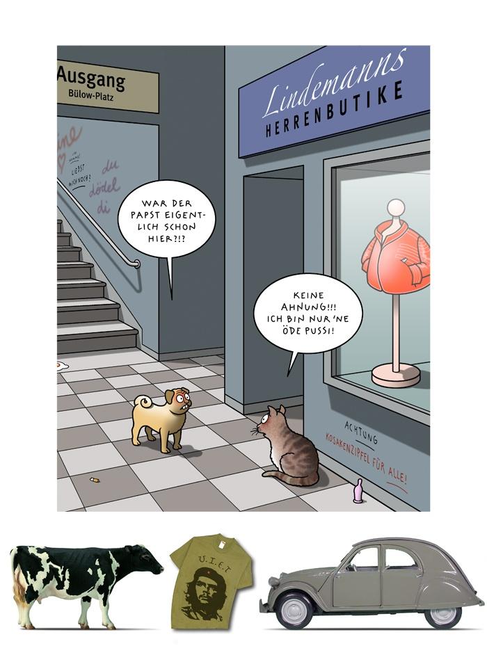 Tetsche - Cartoon der Woche . . . vom  9. April 2020
