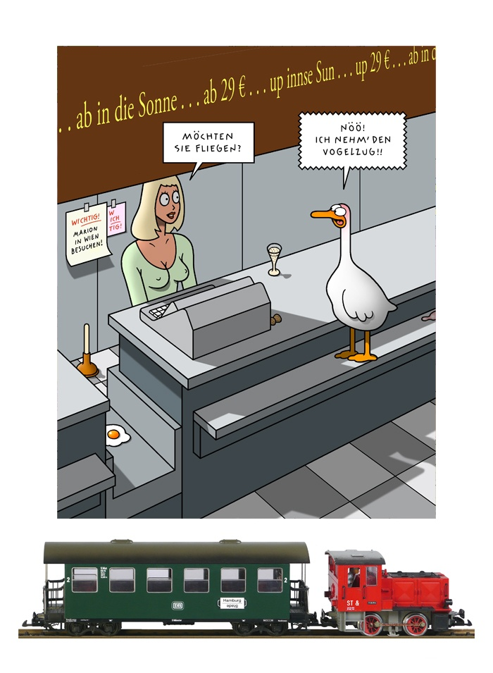 Tetsche - Cartoon der Woche . . . vom  7. November 2019