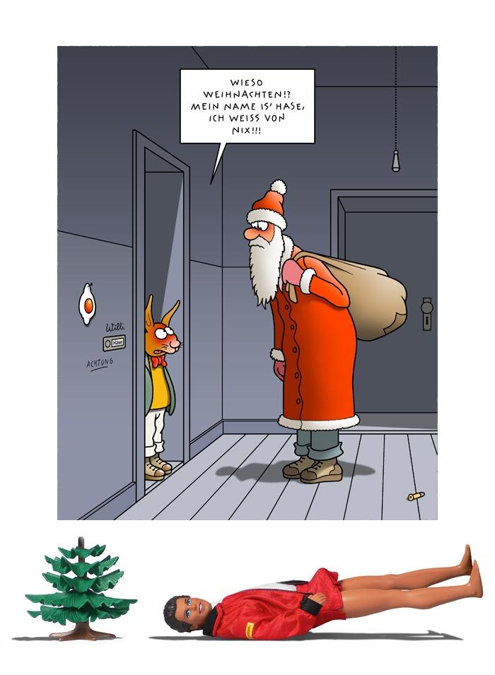 Tetsche - Cartoon der Woche . . . vom 24. Dezember 2020