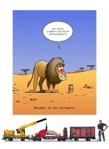 Tetsche - Cartoon der Woche . . . vom  3. Januar 2019