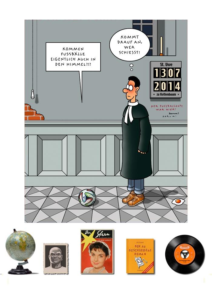 Tetsche - Cartoon der Woche . . . vom 12. August 2021