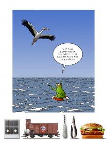 Tetsche - Cartoon der Woche . . . vom 22. August 2019