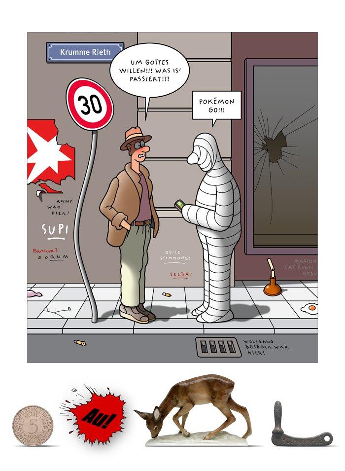 Tetsche - Cartoon der Woche . . . vom 10. Dezember 2020