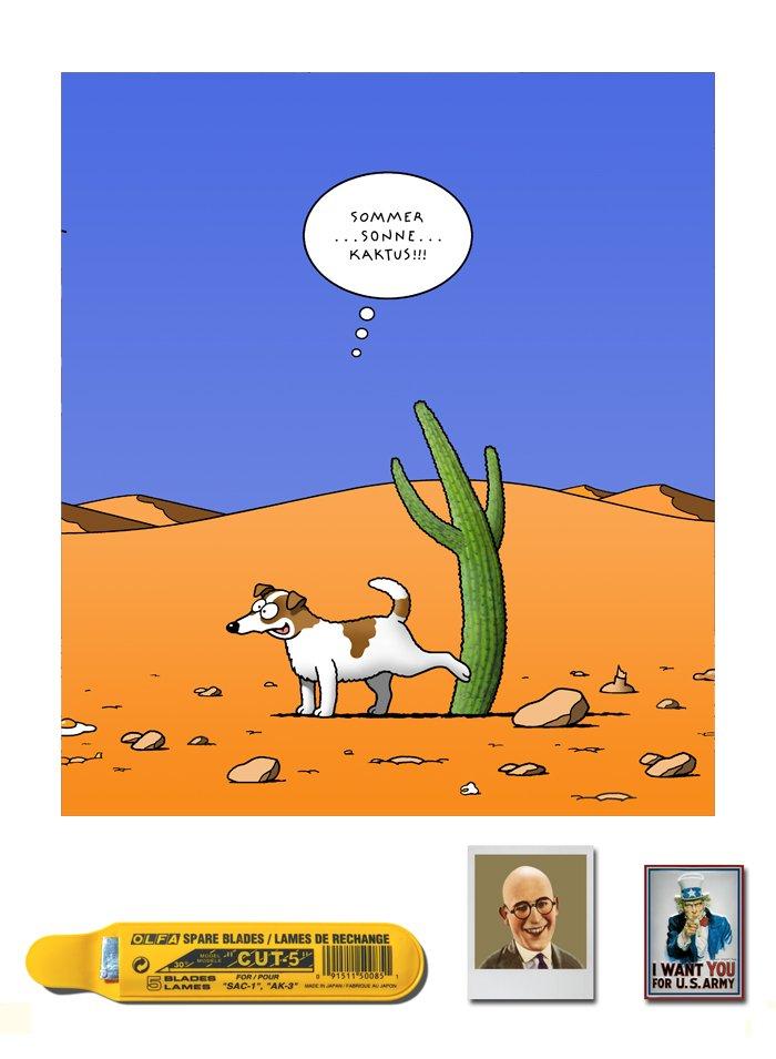 Tetsche - Cartoon der Woche . . . vom 20. Februar 2020