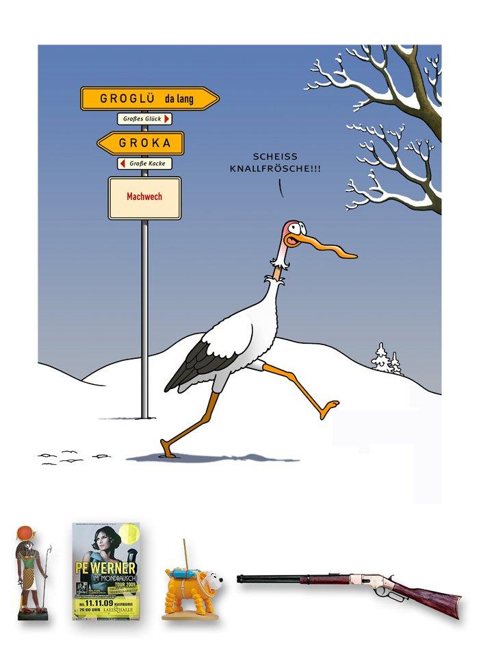 Tetsche - Cartoon der Woche . . . vom 31. Dezember 2020